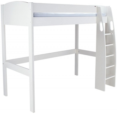 Stompa White High Sleeper Bed