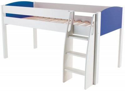 Stompa Blue Mid Sleeper Bed