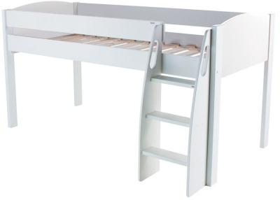 Stompa White Mid Sleeper Bed