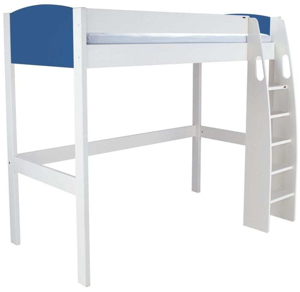 Stompa Blue High Sleeper Bed