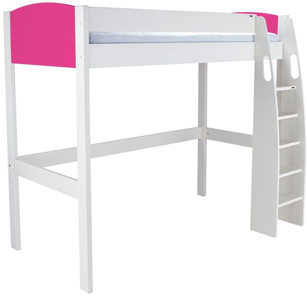 Stompa Pink High Sleeper Frame
