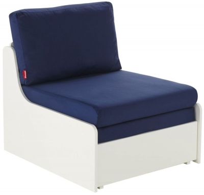 Stompa Blue Single Chair Bed