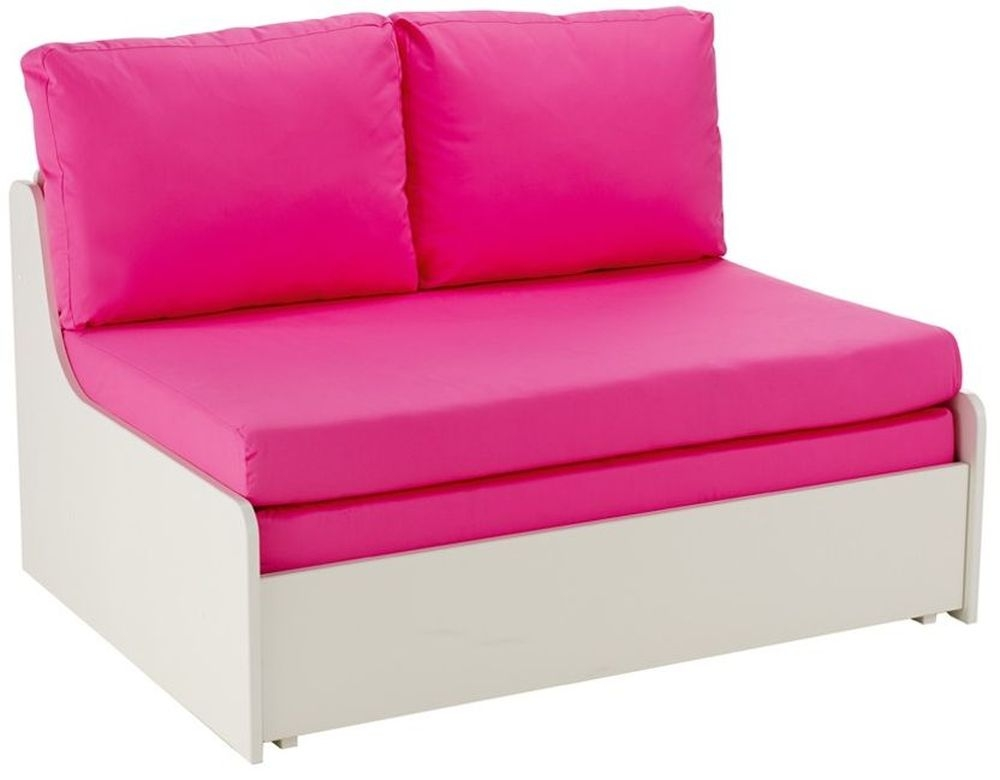 buy stompa pink double sofa bed online cfs uk. Black Bedroom Furniture Sets. Home Design Ideas