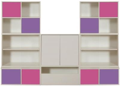 Stompa Storage Bundle C2 and 2 Large White Doors