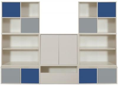 Stompa Storage Bundle C3 and 2 Large White Doors