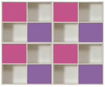 Stompa Storage Bundle G2 with Small Doors - Pink and Purple