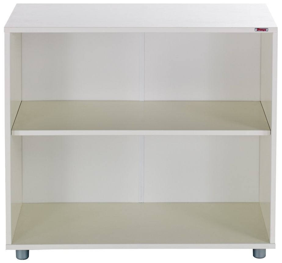 Stompa White Shelf Bookcase