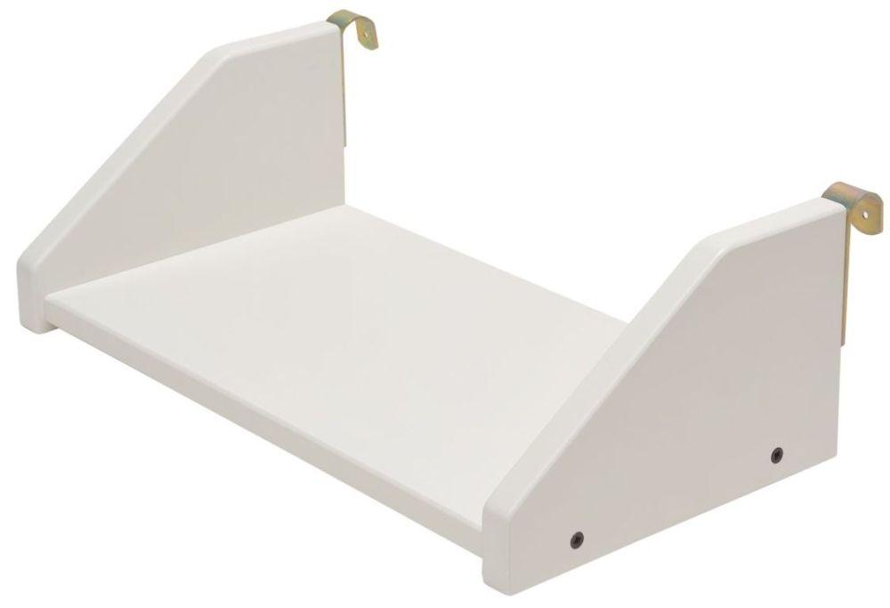 Stompa White Small Clip on Shelf