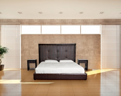 Stone International America Leather Bed