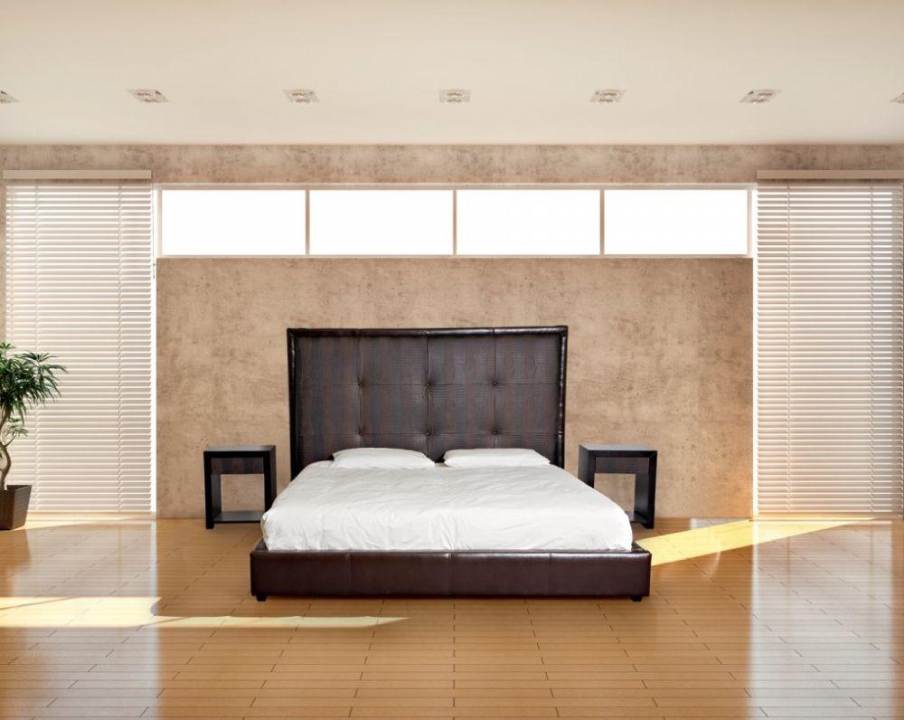 Stone International America Leather Bed