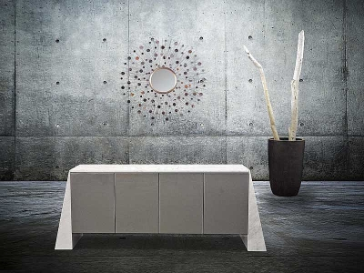 Stone International Butterfly Marble Buffet