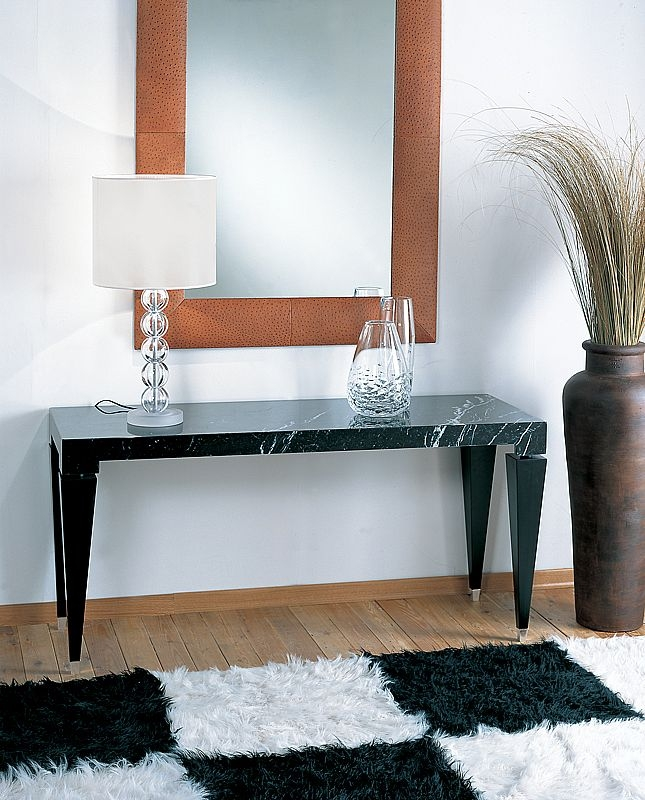 Stone International Chicago Marble Console Table