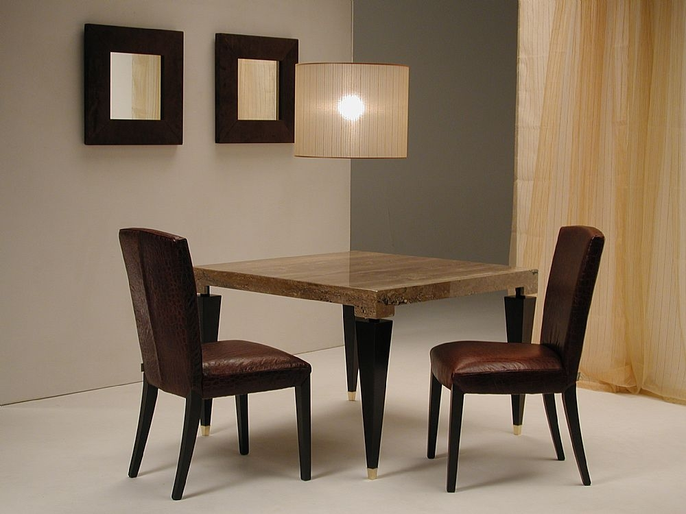 Stone International Chicago Marble Dining Table