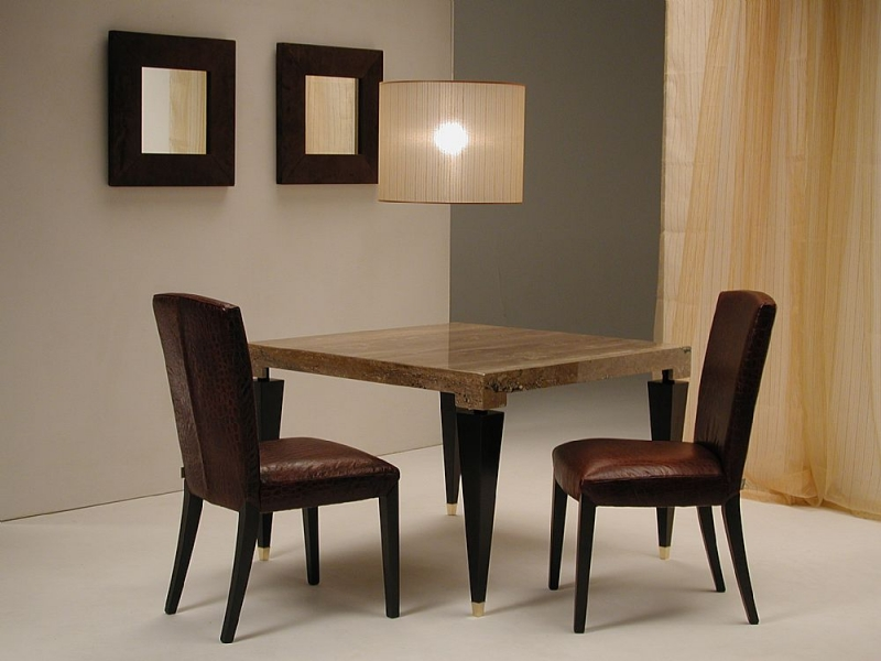 Stone International Chicago Marble Game Table