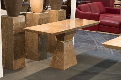 Stone International Clepsy Plus Marble Occasional Table