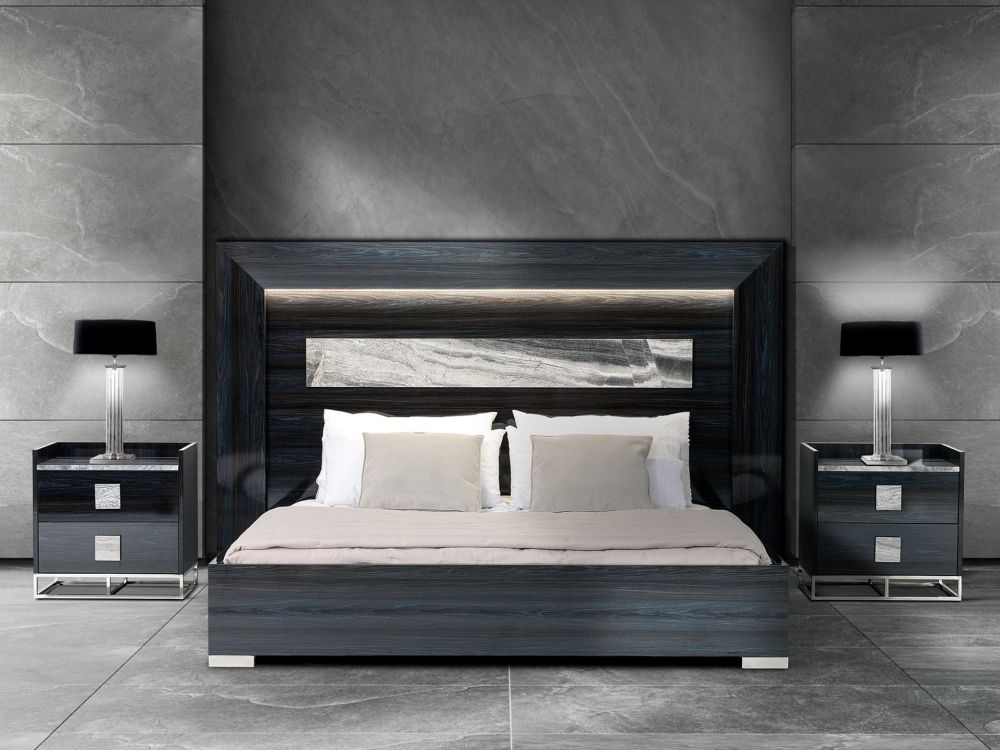 Stone International Elliot Wood Bed