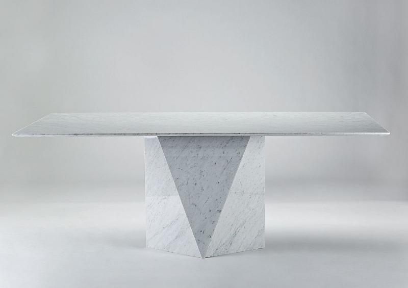 Stone International Freedom Marble Dining Table Cfs Furniture Uk