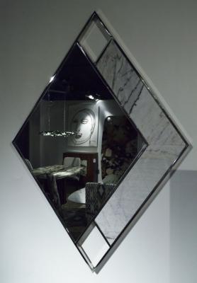 Stone International Marble Inlay Ego Mirror - 90cm x 130cm