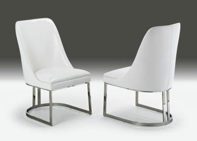 Stone International Greta Leather Dining Chair (Pair)