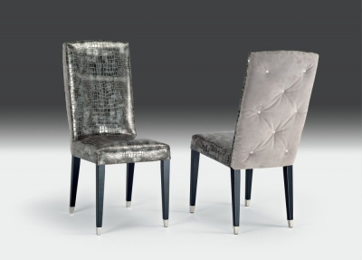 Stone International Diva Leather Dining Chair (Pair)
