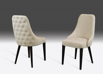 Stone International Luna Leather Dining Chair (Pair)