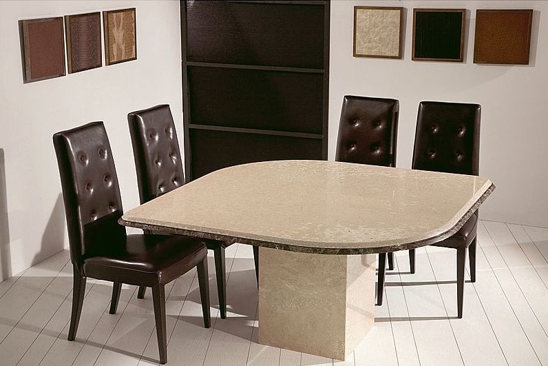 Buy Stone International Leaf Marble Dining Table Online CFS UK