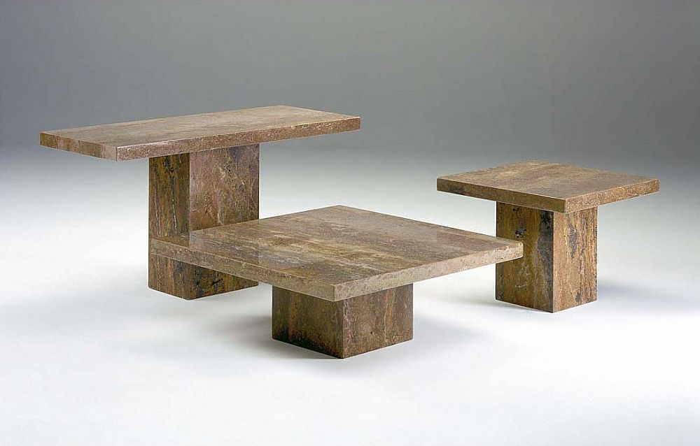 Buy Stone International Roma Boxed Edge Marble Occasional Tables