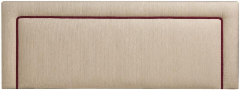 Stuart Jones Mars Piping Fabric Headboard