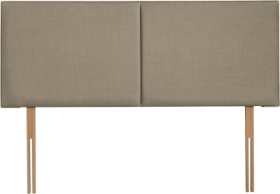 Cairo Fudge Fabric Headboard