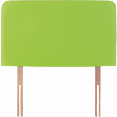 Starburst Lime Fabric Children Headboard