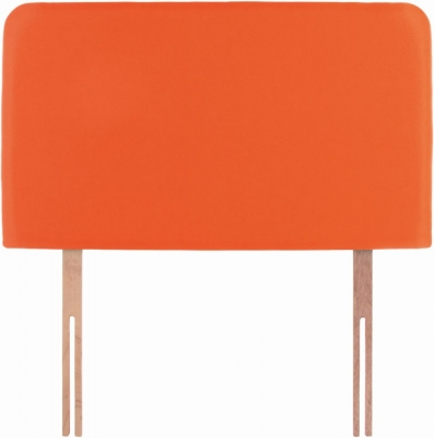 Starburst Orange Fabric Children Headboard