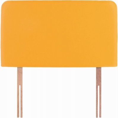 Starburst Yellow Fabric Children Headboard