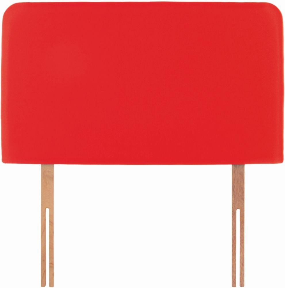 Starburst Red Fabric Children Headboard