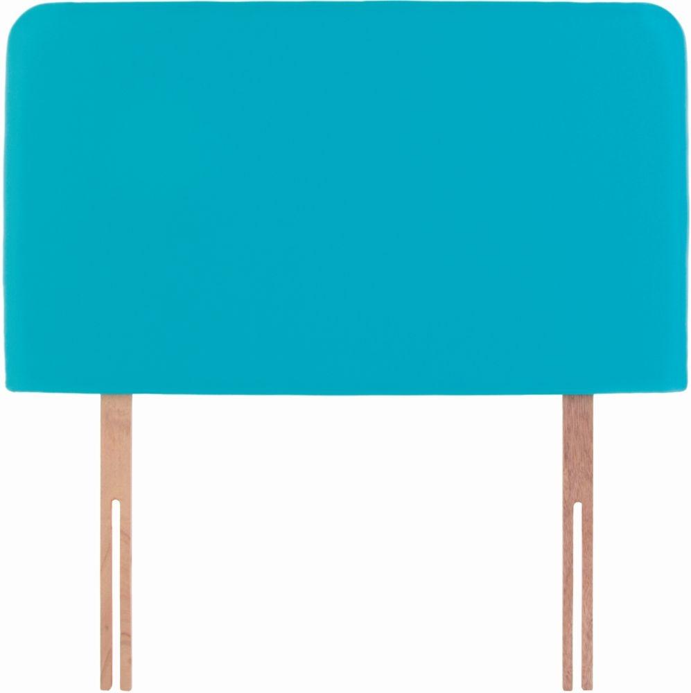 Starburst Turquoise Fabric Children Headboard