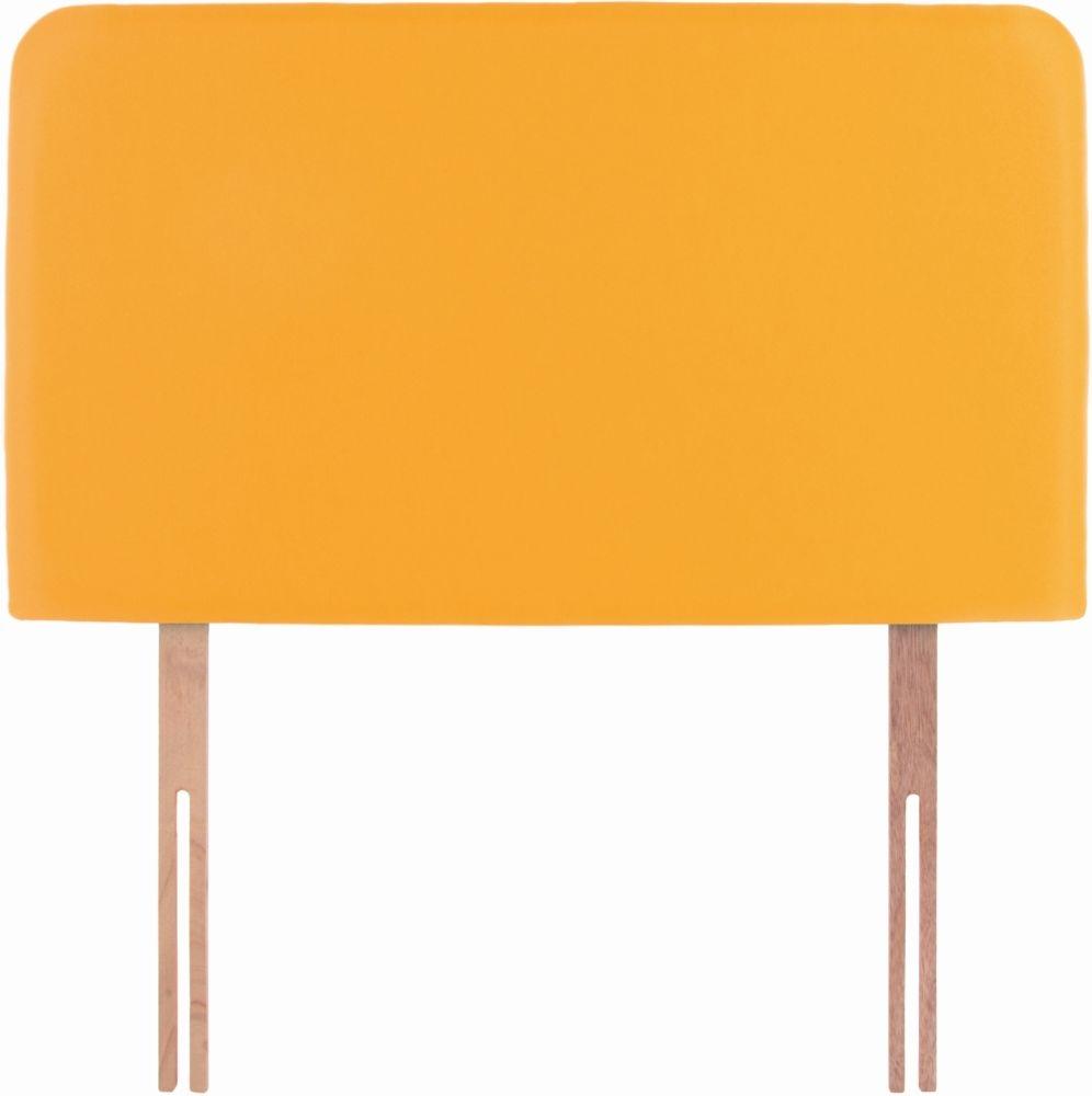 Starburst Yellow Fabric Children Headboard