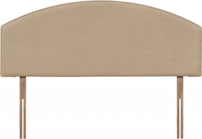 Cleopatra Oatmeal Fabric Headboard
