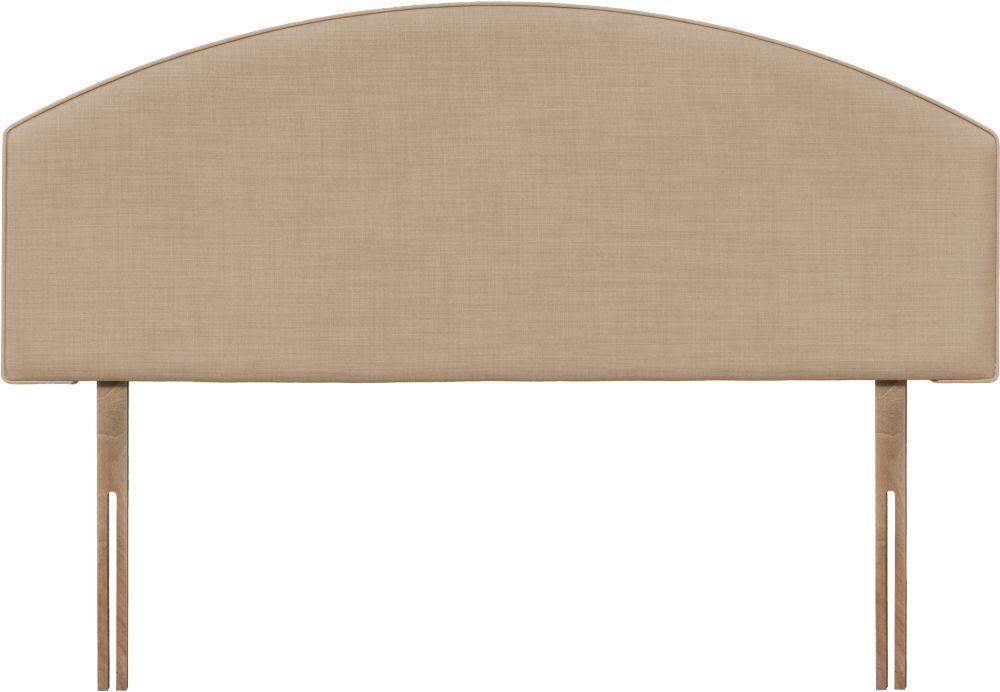 Cleopatra Oatmeal Fabric Headboard