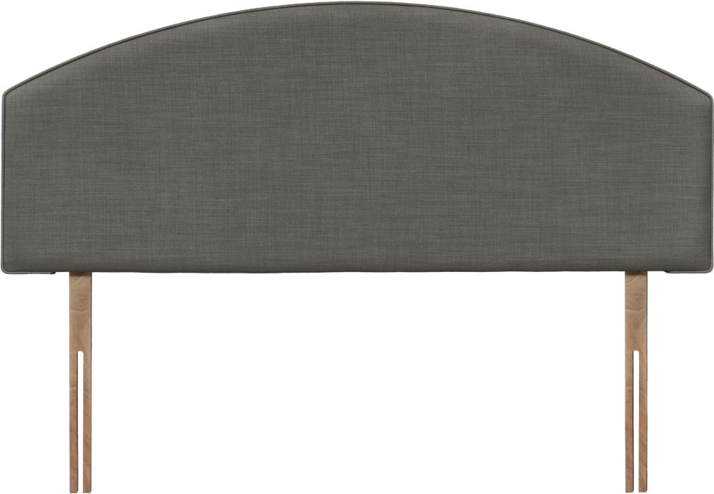 Cleopatra Slate Fabric Headboard