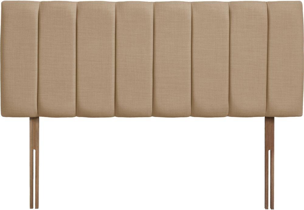 Florence Oatmeal Fabric Headboard