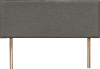 Luxor Slate Fabric Headboard