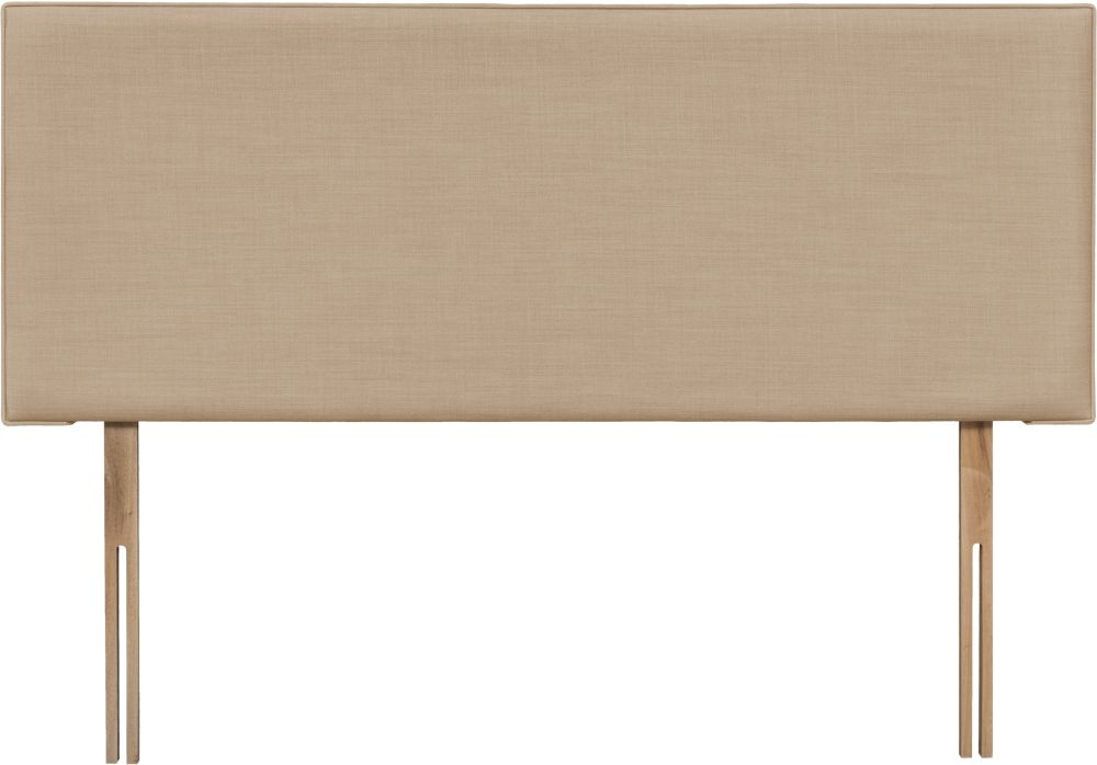Luxor Oatmeal Fabric Headboard