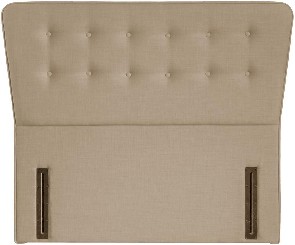 Manhattan Beige Floorstanding Fabric Headboard