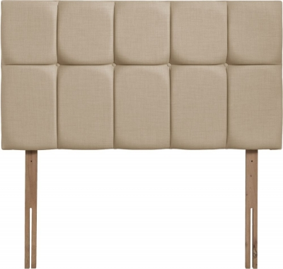 Milan Beige Fabric Headboard