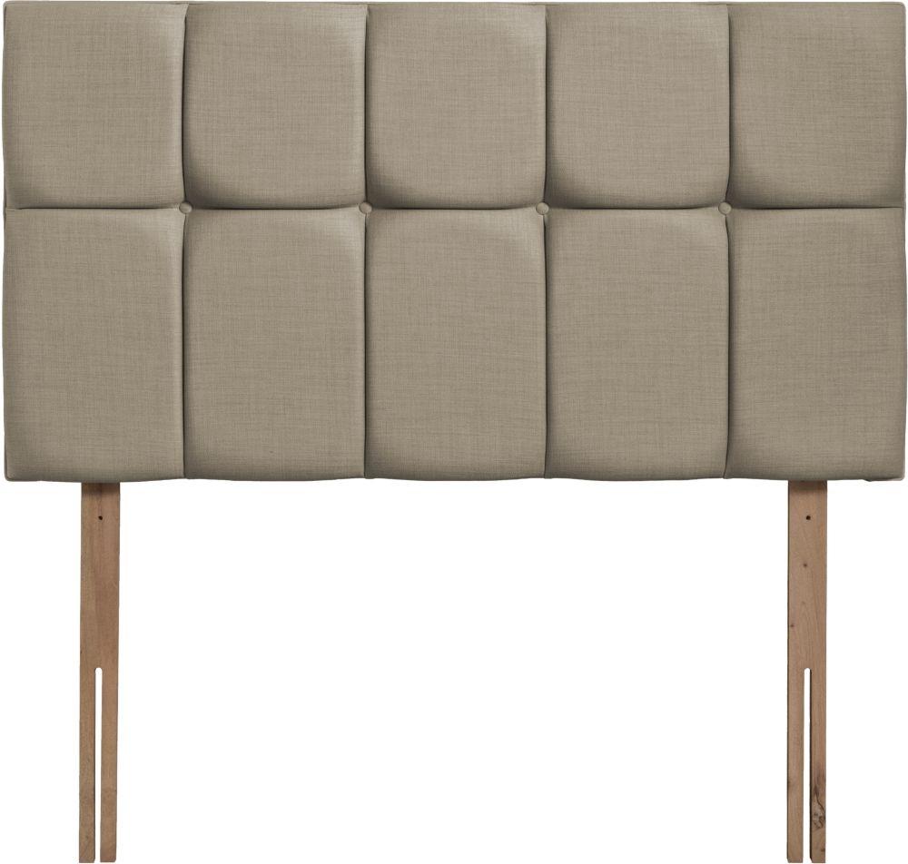 Milan Fudge Fabric Headboard
