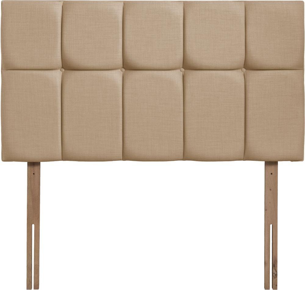 Milan Oatmeal Fabric Headboard