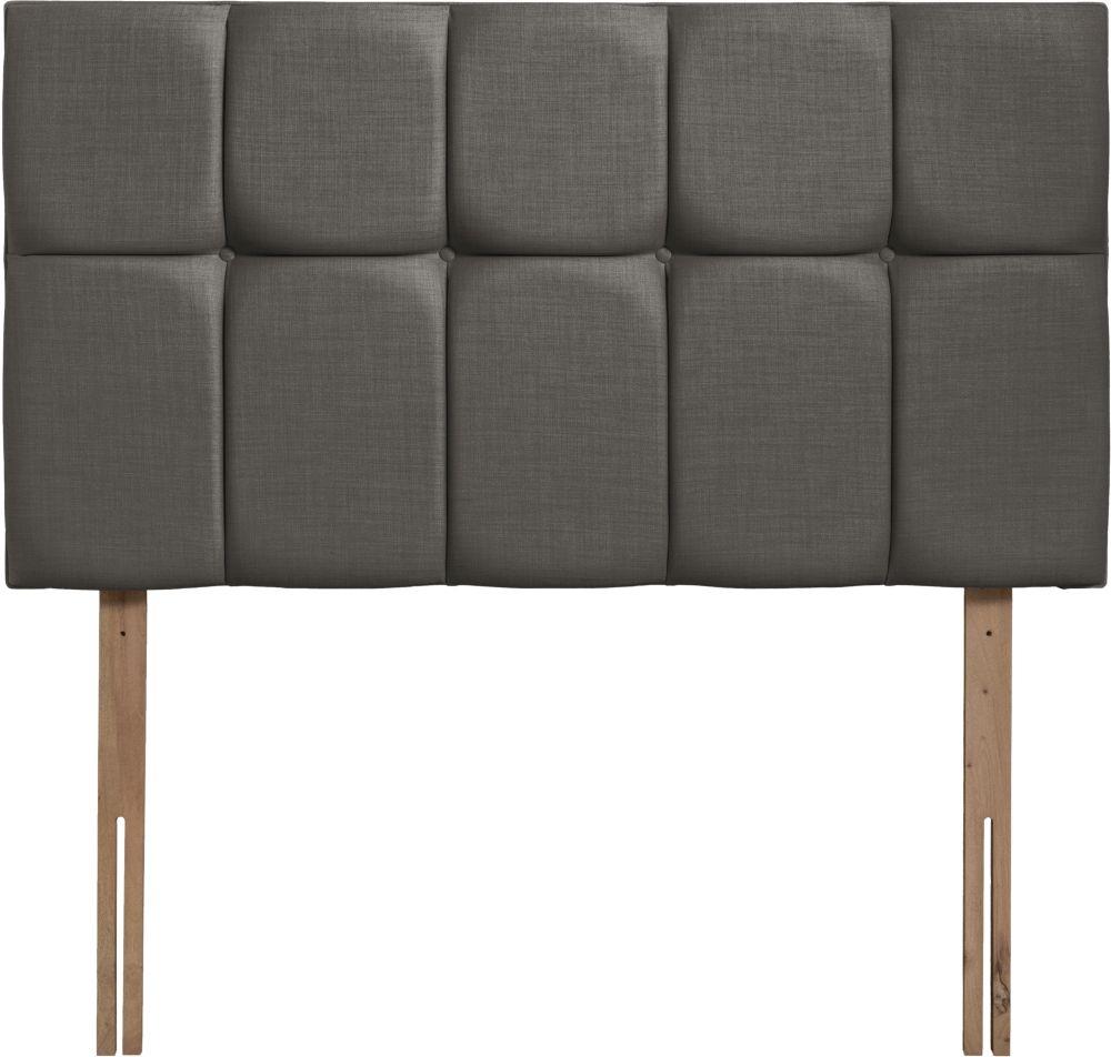 Milan Slate Fabric Headboard