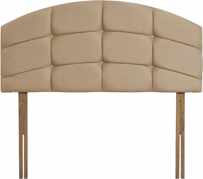 Pesaro Oatmeal Fabric Headboard