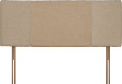 Seville Beige and Oatmeal Fabric Headboard