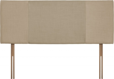 Seville Beige and Sand Fabric Headboard