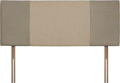 Seville Fudge and Beige Fabric Headboard